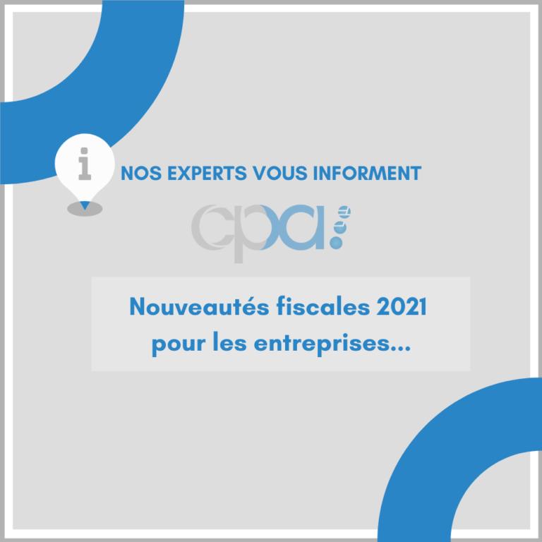 Actualités Loi de finance 2021
