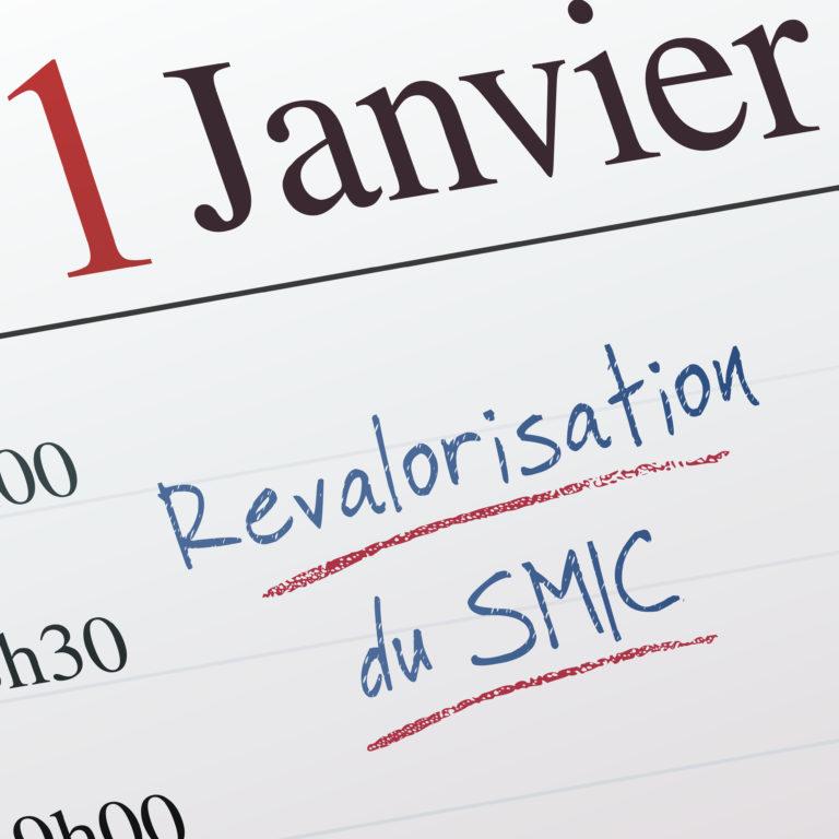 Revalorisation du SMIC