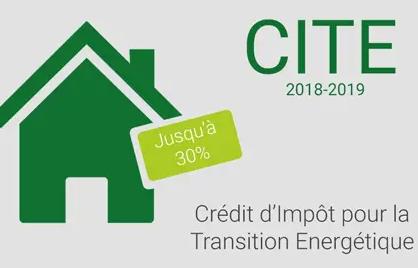 Crédit d'impôt transition énergétique